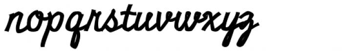 Miniver Air Raid Pro Font LOWERCASE