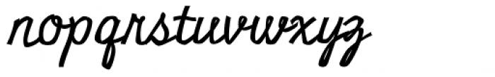 Miniver Pro Font LOWERCASE
