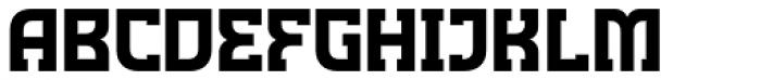 Minnesota Plaid Font UPPERCASE