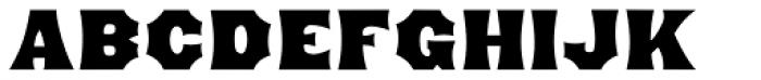 Minnesota Font UPPERCASE