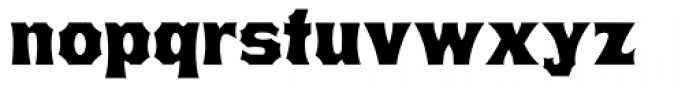 Minnesota Font LOWERCASE