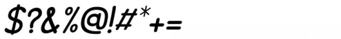 Minou Italic Font OTHER CHARS