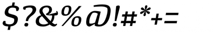 Minuscule 4 Italic Font OTHER CHARS