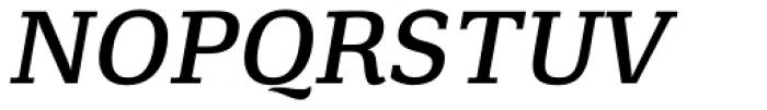 Minuscule 4 Italic Font UPPERCASE
