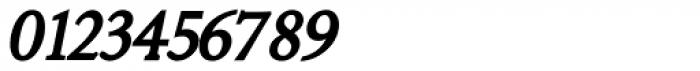 Minutia Bold Italic Font OTHER CHARS