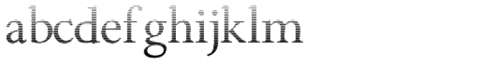 Minutia Fade Font LOWERCASE