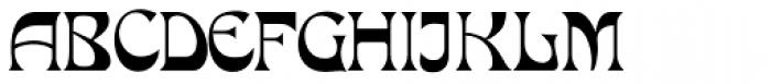 Mira Font UPPERCASE