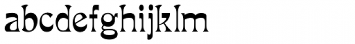 Mira Font LOWERCASE