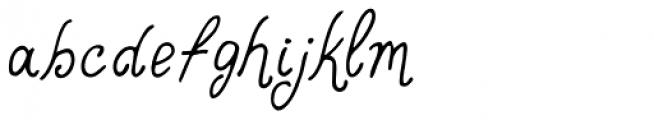 Mirabelle Schoolbook Font LOWERCASE
