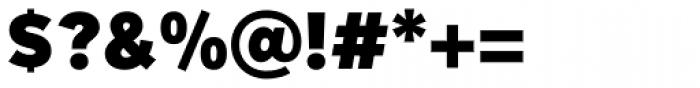 Mirai Black Font OTHER CHARS