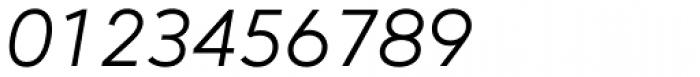 Mirai Italic Font OTHER CHARS