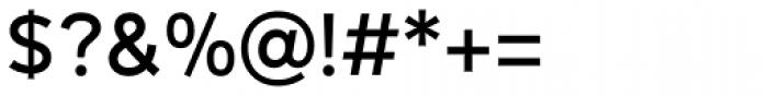 Mirai Medium Font OTHER CHARS