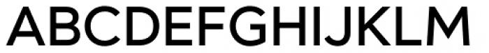 Mirai Medium Font UPPERCASE