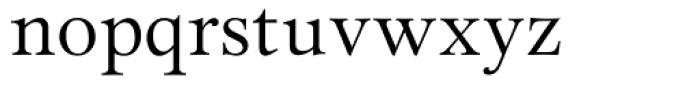 Miramar Font LOWERCASE