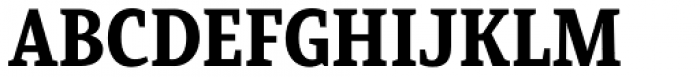 Mirantz Condensed Black Font UPPERCASE
