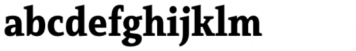 Mirantz Condensed Black Font LOWERCASE