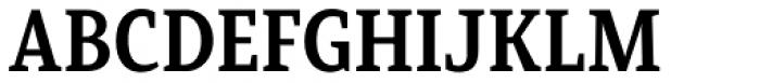 Mirantz Condensed Bold Font UPPERCASE