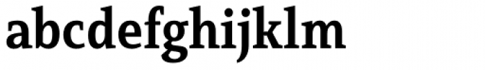 Mirantz Condensed Bold Font LOWERCASE