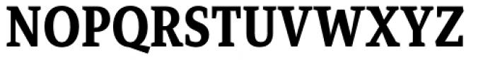 Mirantz Condensed Ex Bold Font UPPERCASE