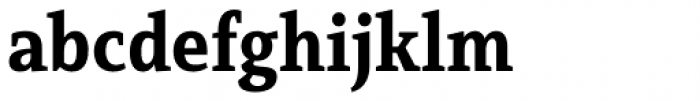 Mirantz Condensed Ex Bold Font LOWERCASE