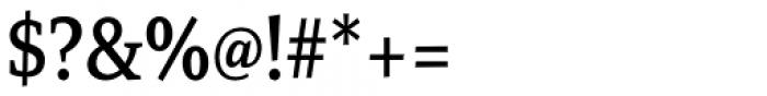 Mirantz Condensed Medium Font OTHER CHARS