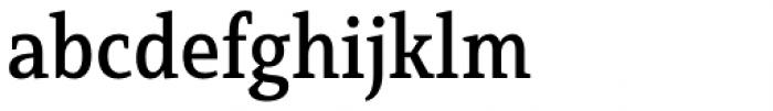 Mirantz Condensed Medium Font LOWERCASE