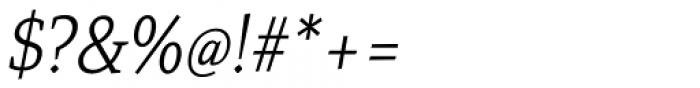 Mirantz Condensed Thin Italic Font OTHER CHARS