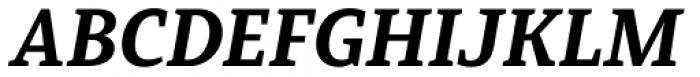 Mirantz Extended Black Italic Font UPPERCASE