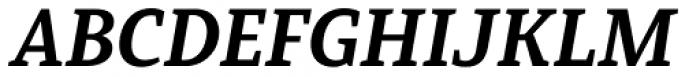 Mirantz Extended Ex Bold Italic Font UPPERCASE