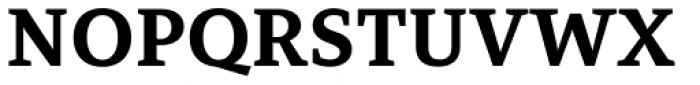Mirantz Extended Ex Bold Font UPPERCASE