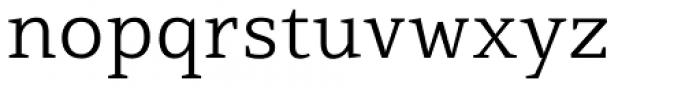 Mirantz Extended Light Font LOWERCASE