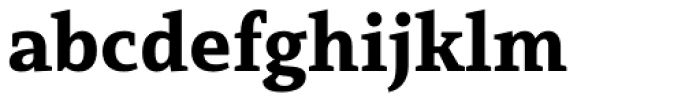 Mirantz Norm Black Font LOWERCASE