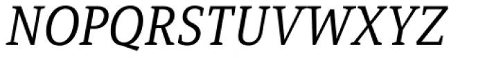 Mirantz Norm Book Italic Font UPPERCASE