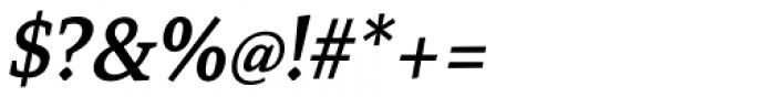 Mirantz Norm Demi Italic Font OTHER CHARS