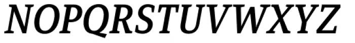 Mirantz Norm Demi Italic Font UPPERCASE