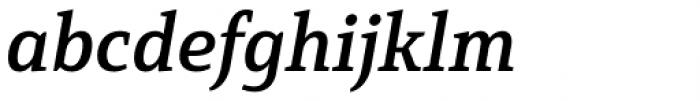 Mirantz Norm Demi Italic Font LOWERCASE