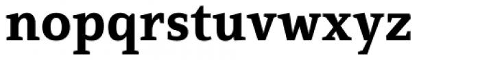Mirantz Norm Ex Bold Font LOWERCASE