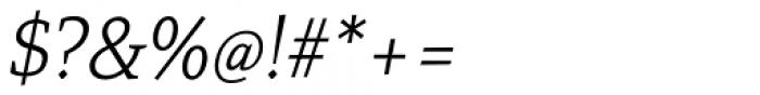 Mirantz Norm Thin Italic Font OTHER CHARS