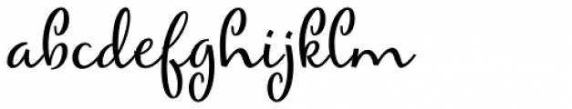 Mirielle Font LOWERCASE