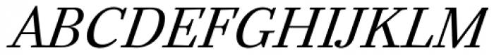 Mirta Italic Font UPPERCASE