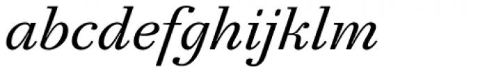 Mirta Italic Font LOWERCASE