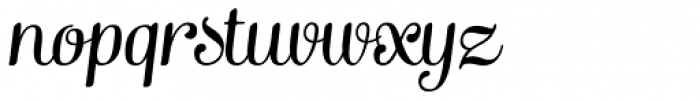 Mishka Italic Font LOWERCASE