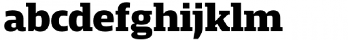 Mislab Std Extra Bold Font LOWERCASE