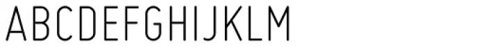 Miso Light Font UPPERCASE