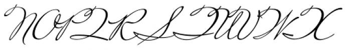 Miss Robertson Font UPPERCASE
