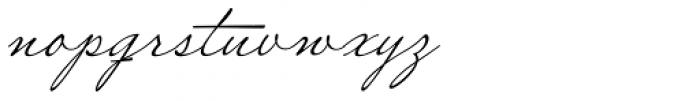 Miss Robertson Font LOWERCASE
