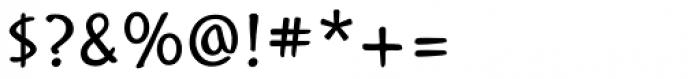 Mission Regular Font OTHER CHARS