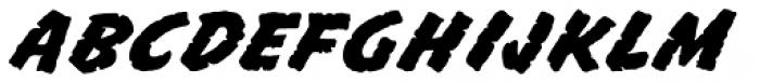 Mission Sinister Font UPPERCASE