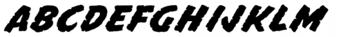 Mission Sinister Font LOWERCASE