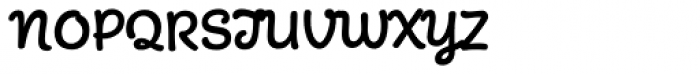 Mister Brown Font UPPERCASE